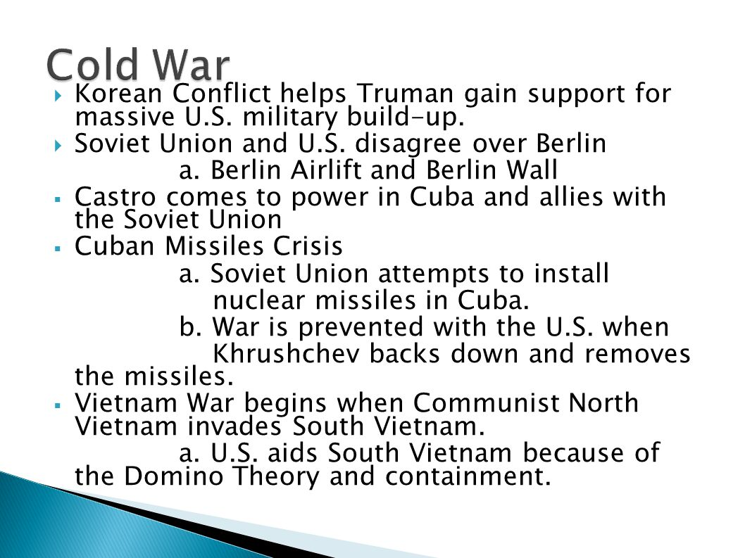 cold war be prevented How the cold war could have been avoided stalin's mistrust of churchill and roosevelt, especially their refusal to open a second front in france until 1944.