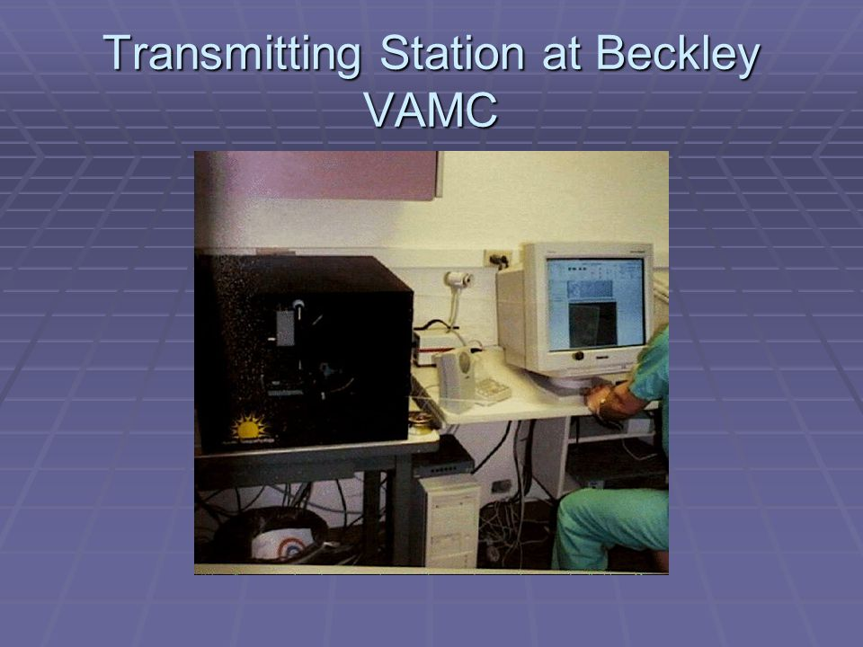 Transmitting Station at Beckley VAMC