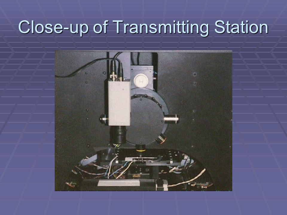 Close-up of Transmitting Station
