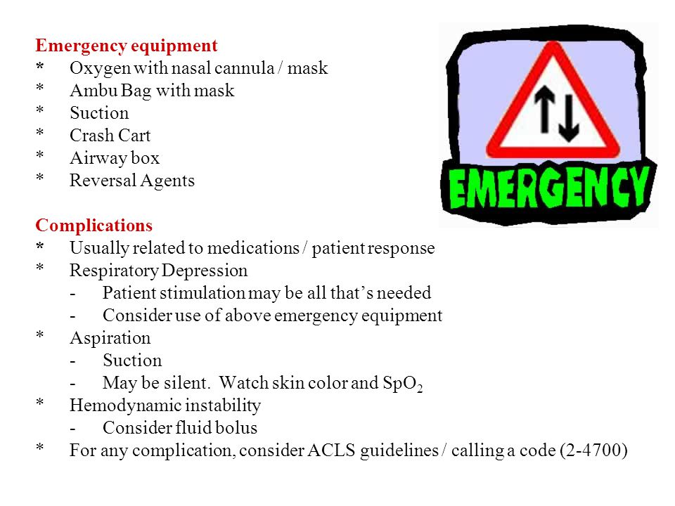 Emergency equipment. Oxygen with nasal cannula / mask