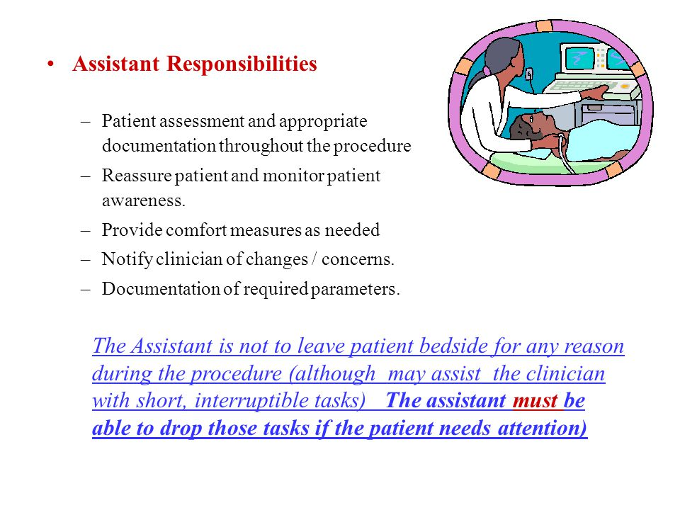 Assistant Responsibilities