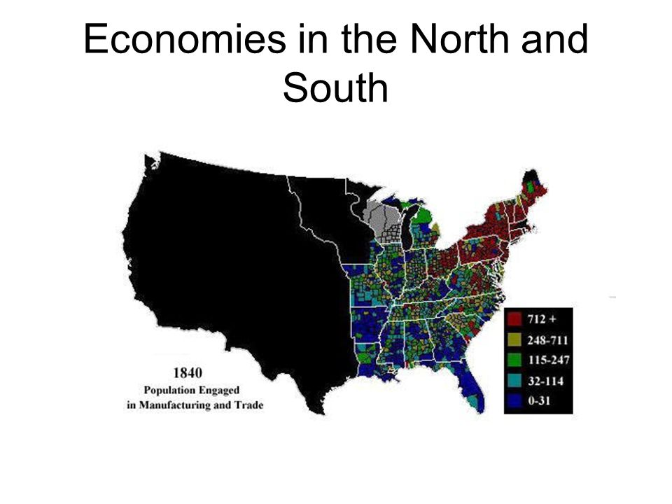 Economies in the North and South
