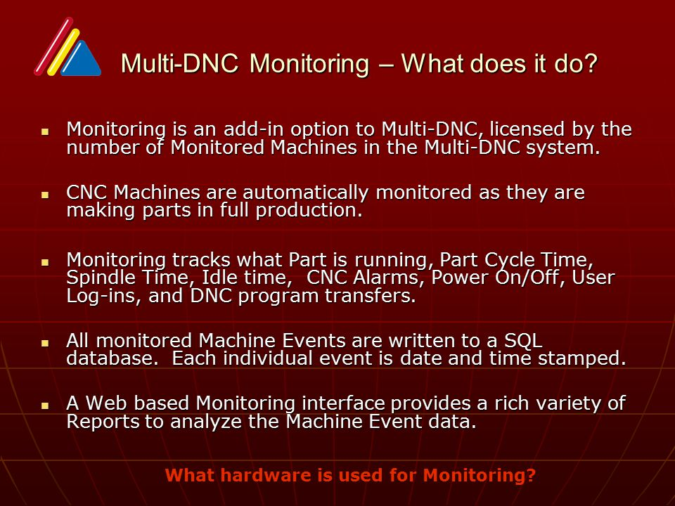 Multi-DNC Monitoring – What does it do