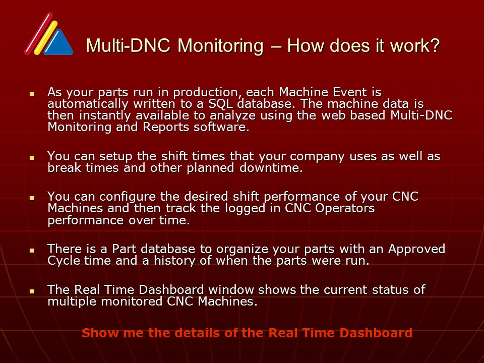 Multi-DNC Monitoring – How does it work