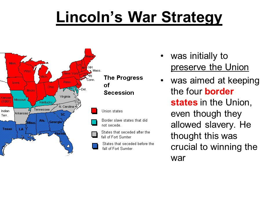 Lincoln's War Strategy
