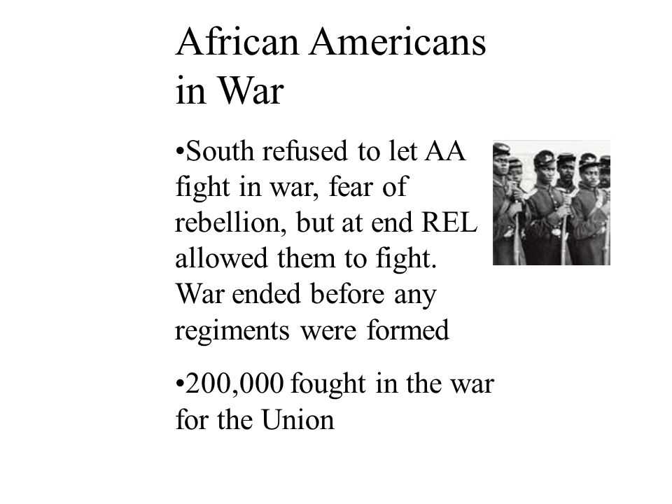 African Americans in War