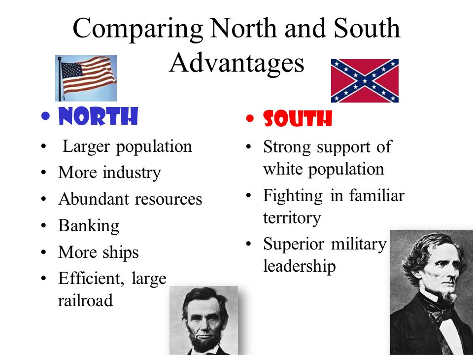 Comparing North and South Advantages