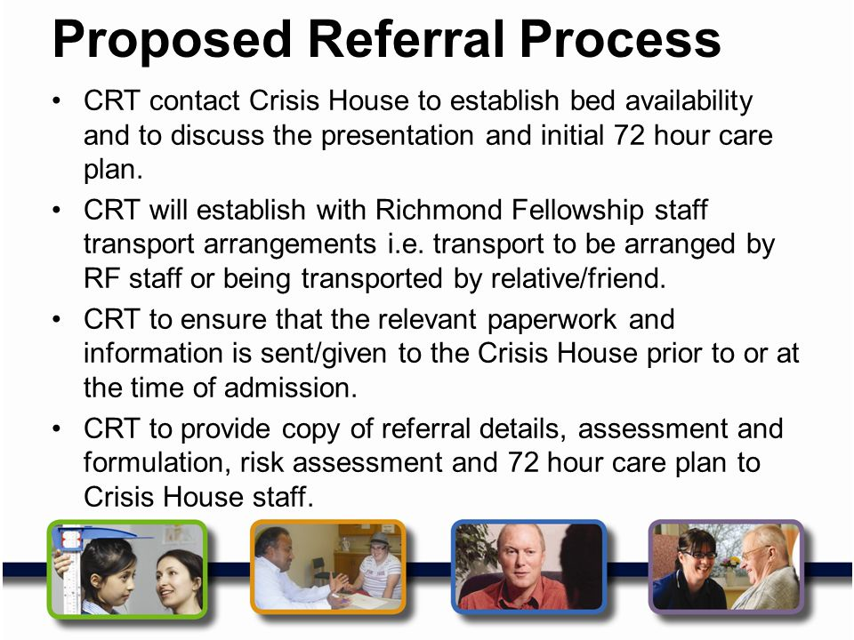 Proposed Referral Process
