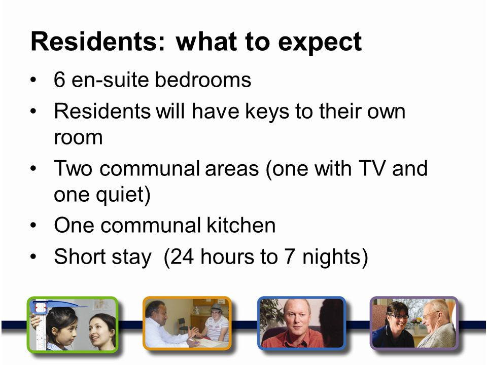 Residents: what to expect