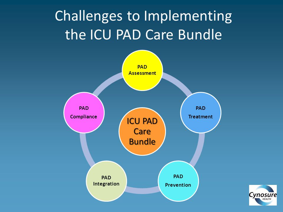 Challenges to Implementing the ICU PAD Care Bundle
