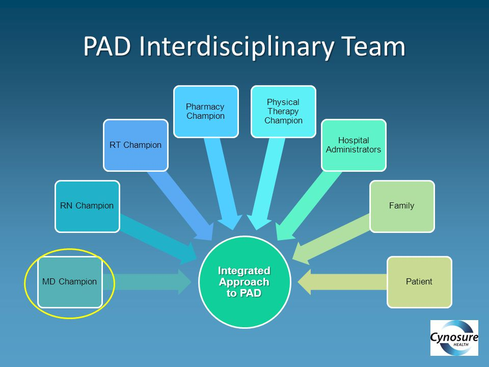 PAD Interdisciplinary Team