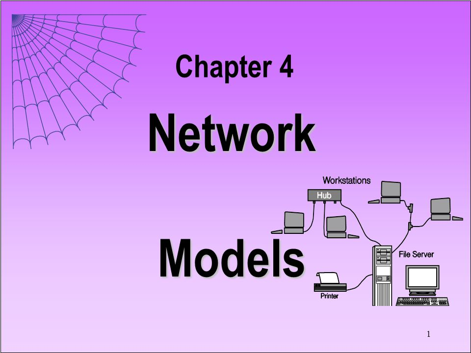Chapter 4 Network Models