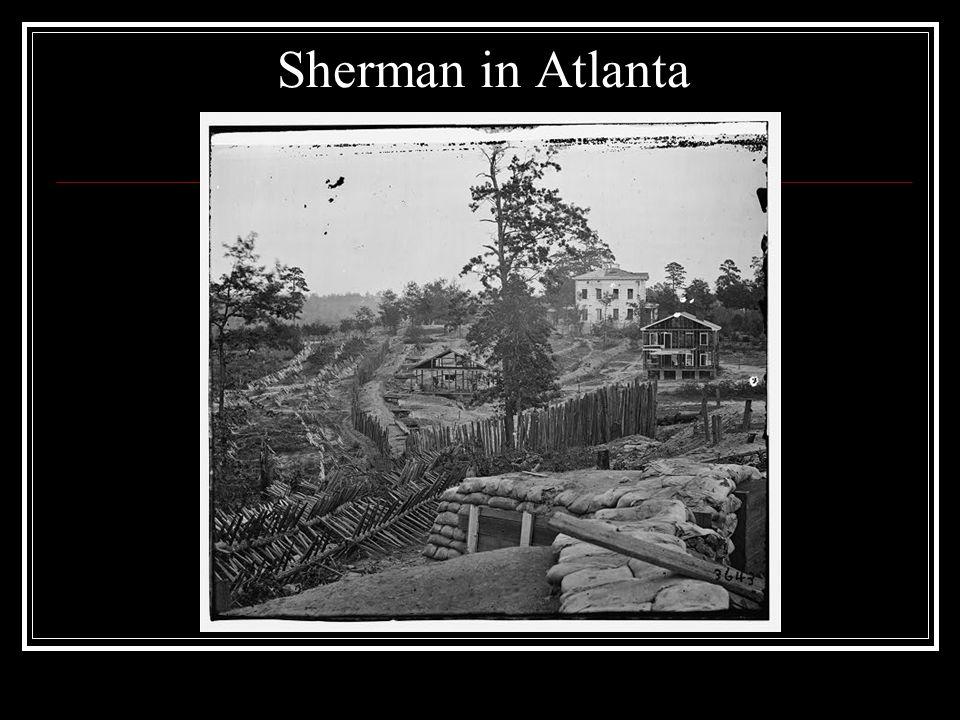 Sherman in Atlanta