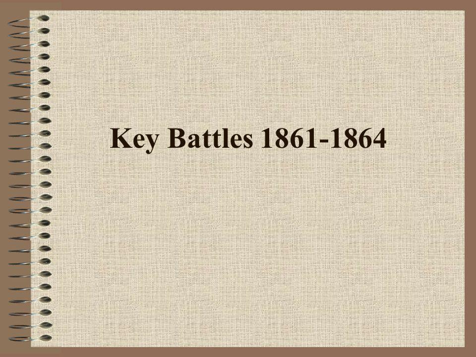 Key Battles 1861-1864