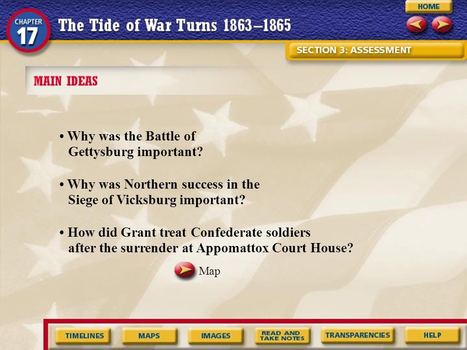 • Why was the Battle of Gettysburg important