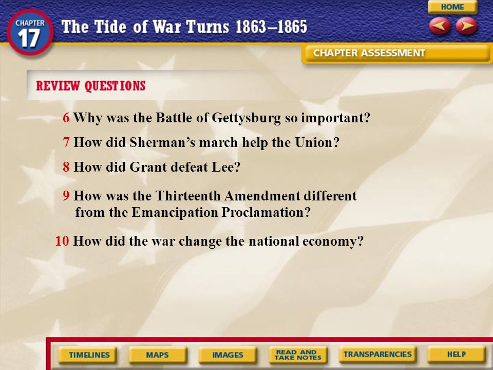 6 Why was the Battle of Gettysburg so important
