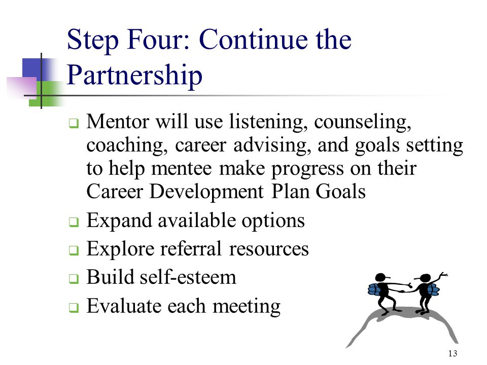 Step Four: Continue the Partnership