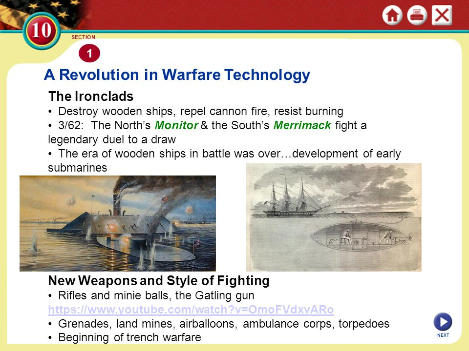 A Revolution in Warfare Technology