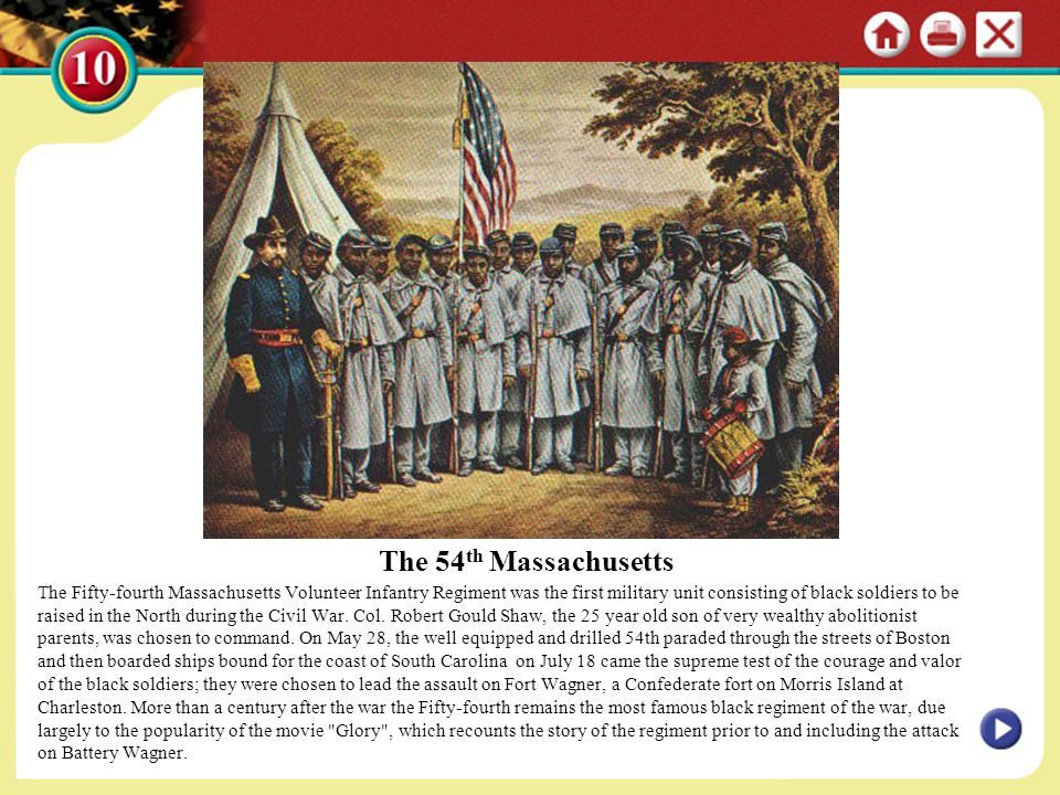 The 54th Massachusetts