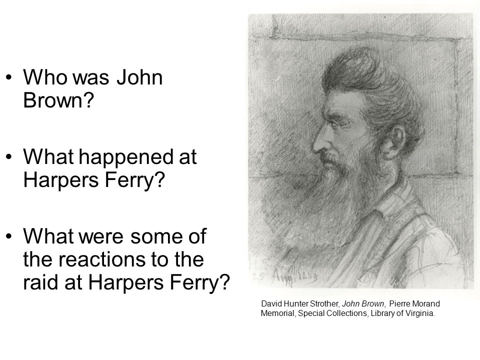 What happened at Harpers Ferry