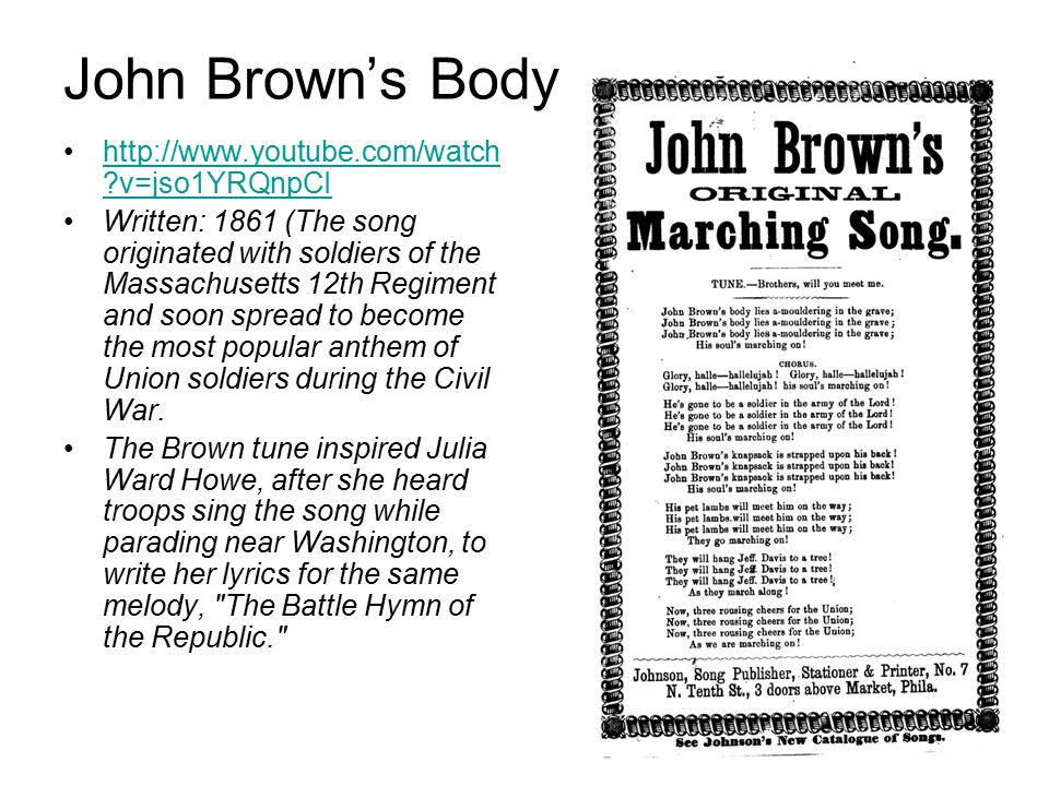 John Brown's Raid and Reaction in Virginia - ppt video ...
