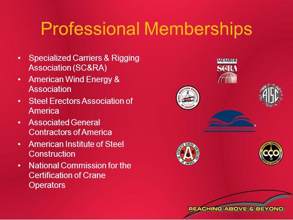 Professional Memberships