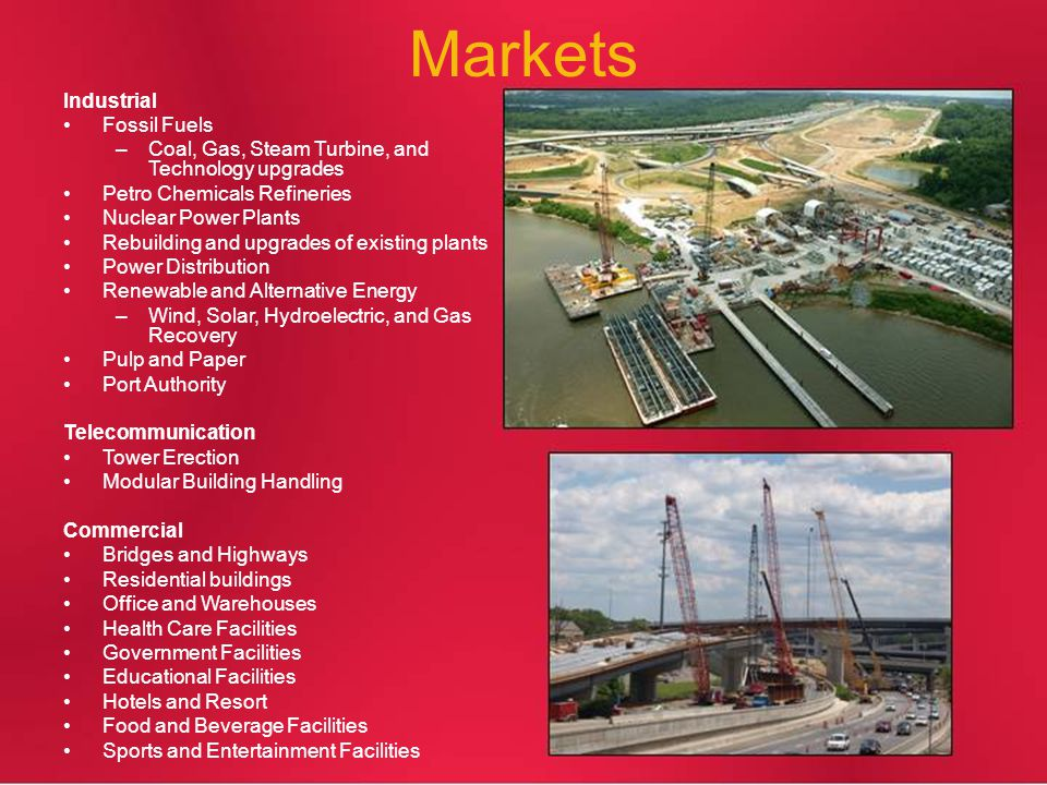 Markets Industrial Fossil Fuels