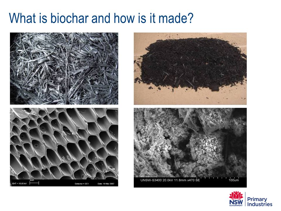 What is biochar and how is it made