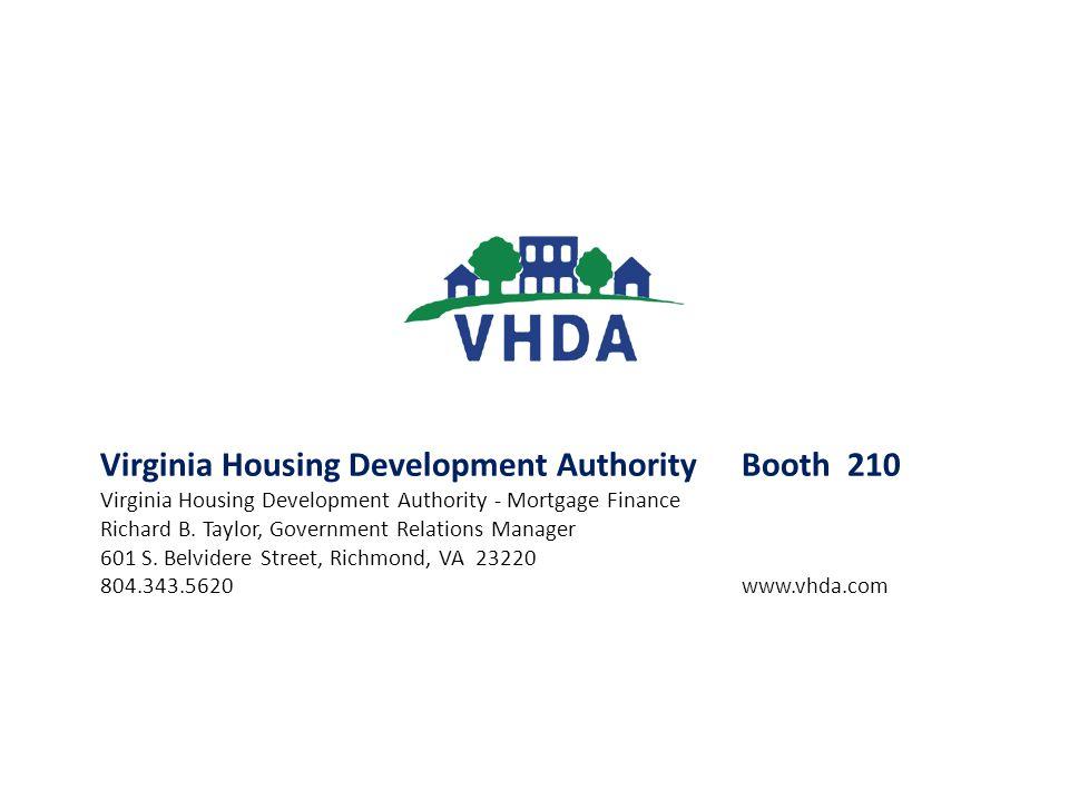 Virginia Housing Development Authority Booth 210