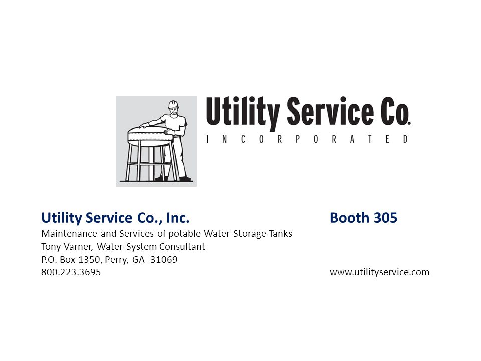 Utility Service Co., Inc. Booth 305