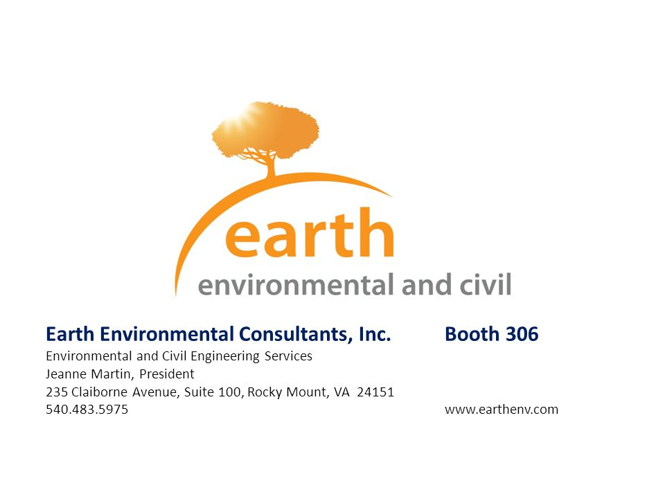 Earth Environmental Consultants, Inc. Booth 306