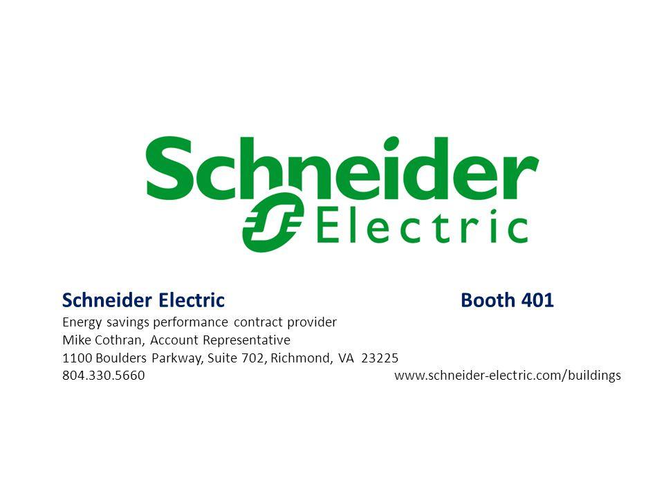 Schneider Electric Booth 401