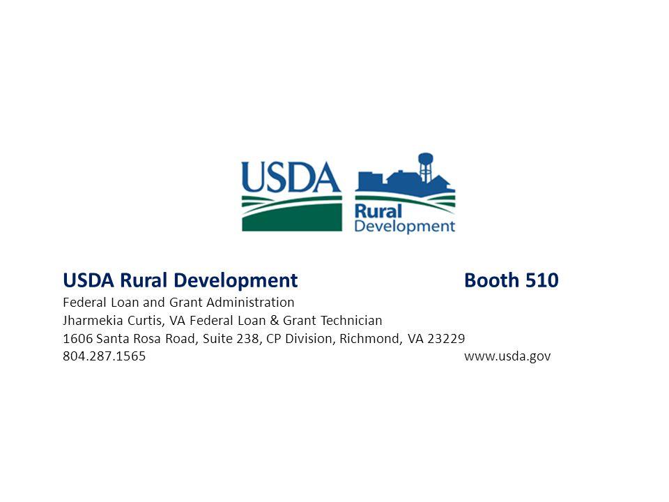 USDA Rural Development Booth 510
