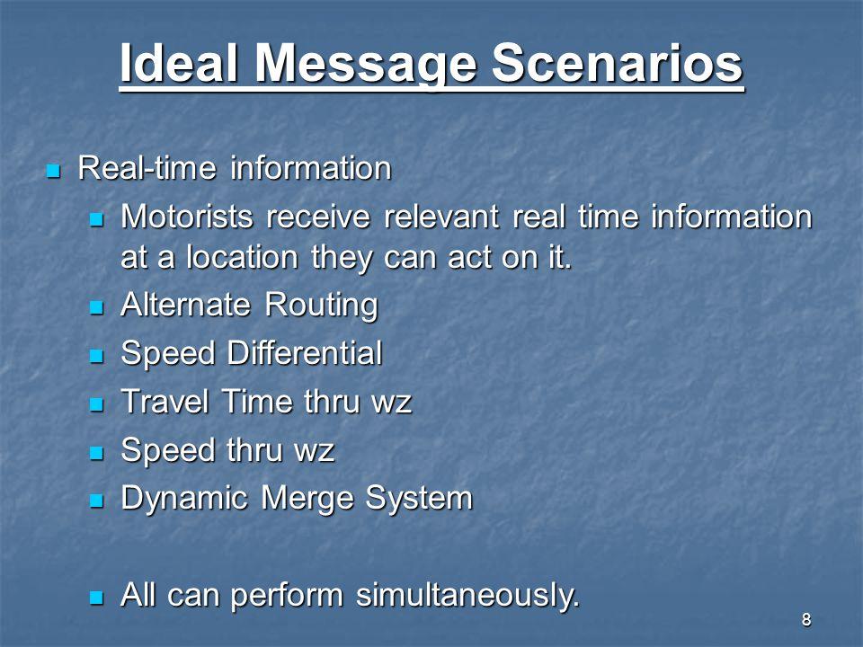 Ideal Message Scenarios