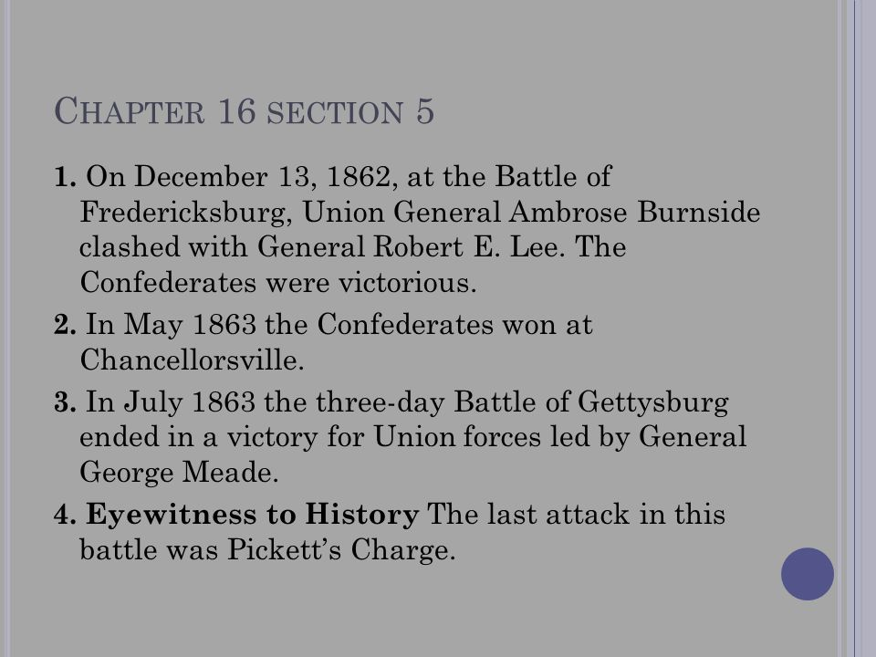 Chapter 16 section 5
