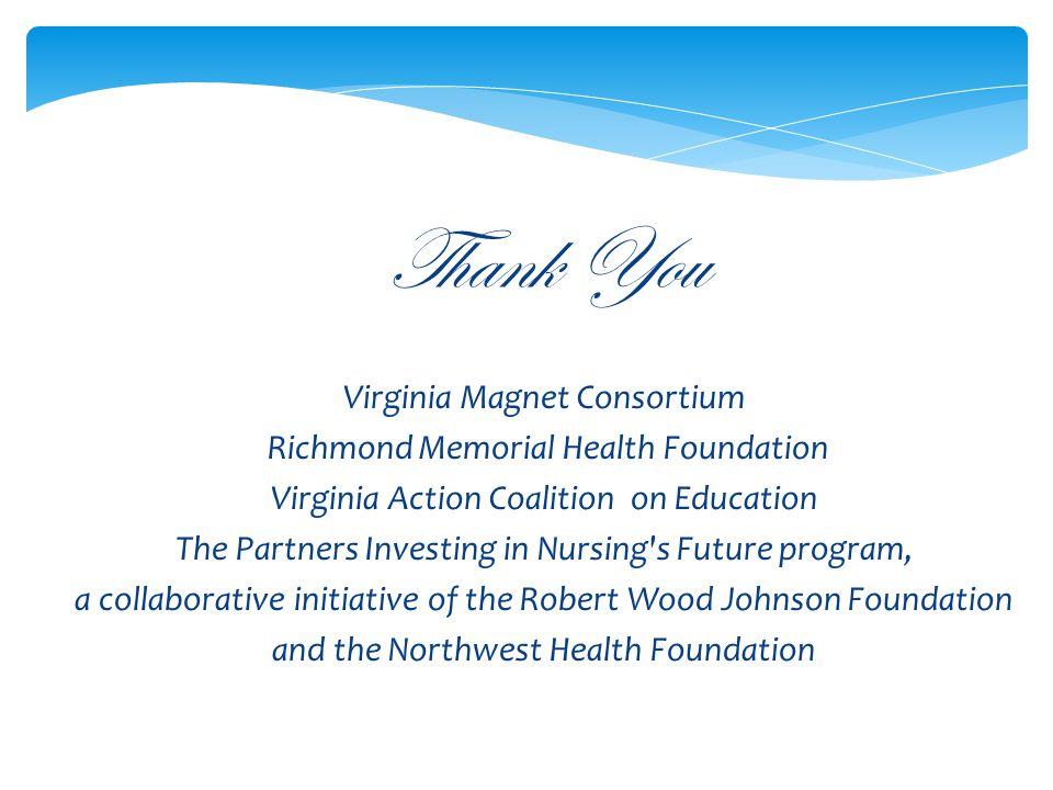 Thank You Virginia Magnet Consortium