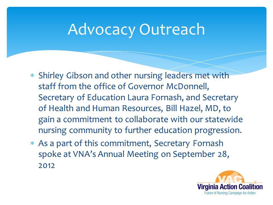Advocacy Outreach