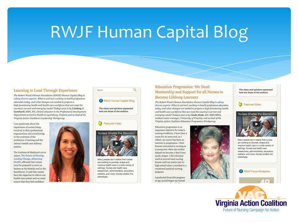 RWJF Human Capital Blog