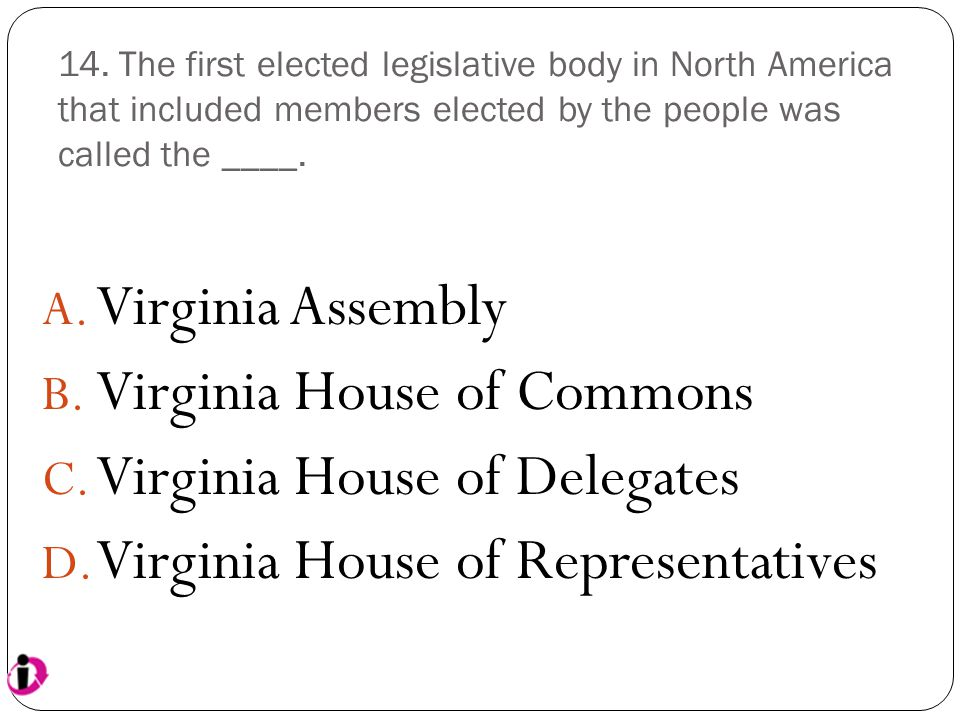 Virginia House of Commons Virginia House of Delegates