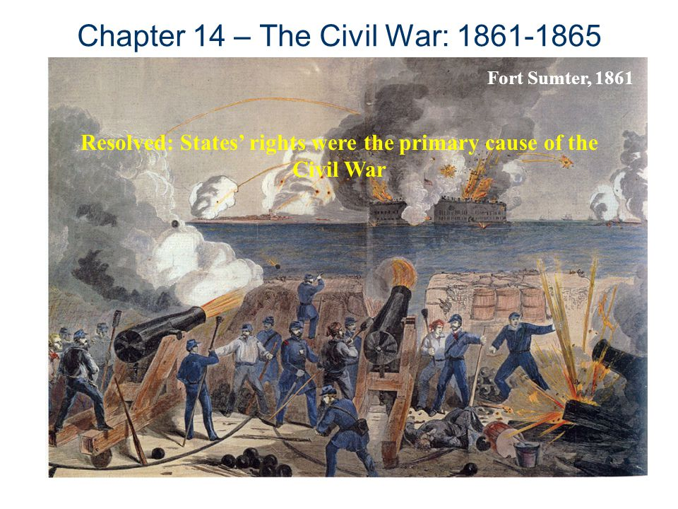 "an analysis of the primary causes of the american civil war in economics To say that slavery was the sole cause of the civil war overlooks stark modern american king,"" their primary export had become."