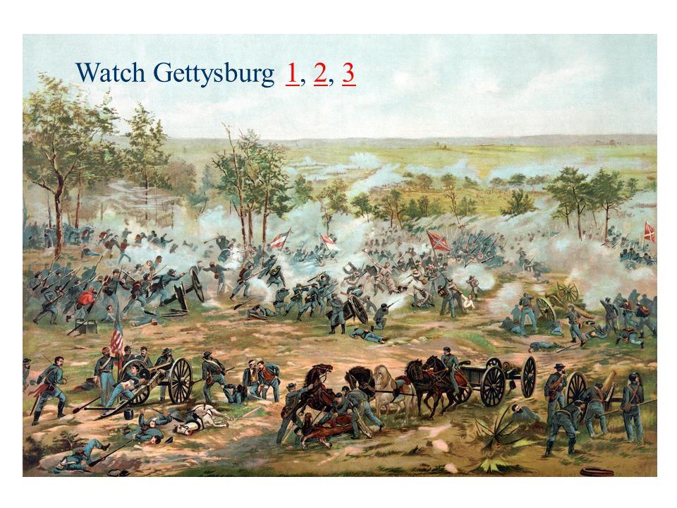 Watch Gettysburg 1, 2, 3