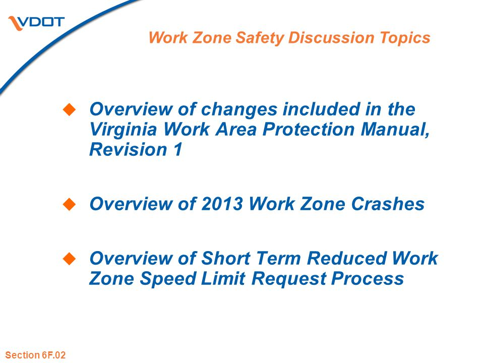 Overview of 2013 Work Zone Crashes