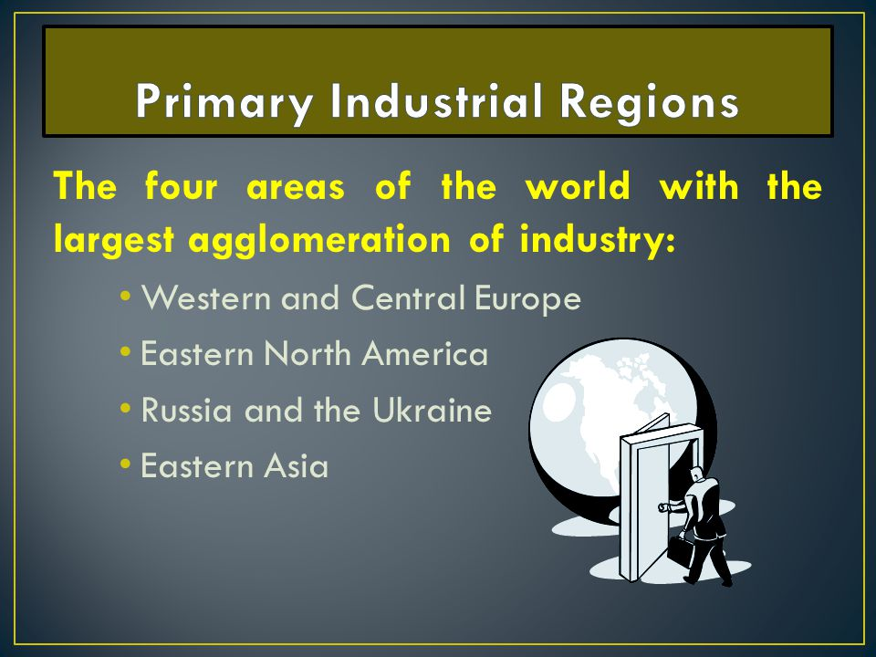 Primary Industrial Regions