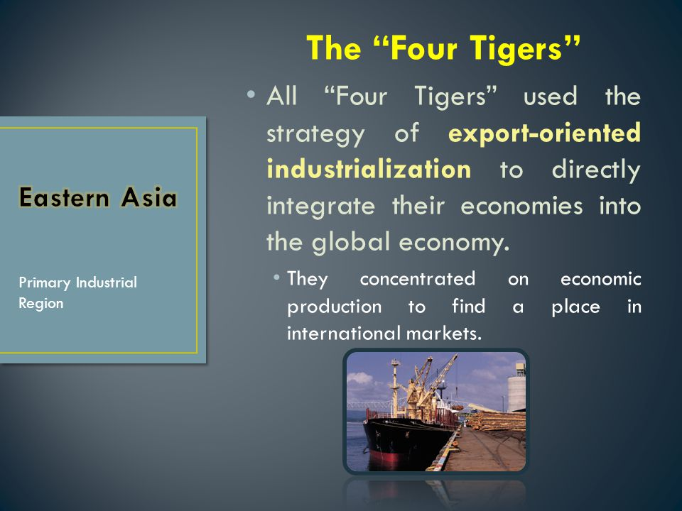 The Four Tigers