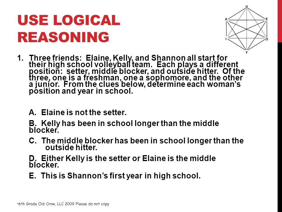 Use Logical Reasoning