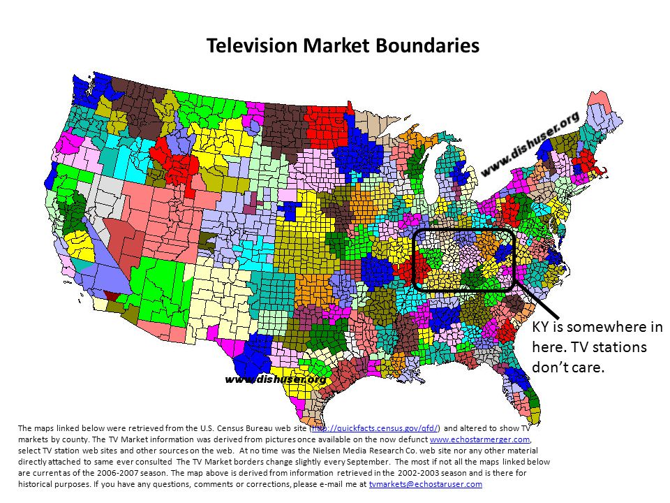 Television Market Boundaries