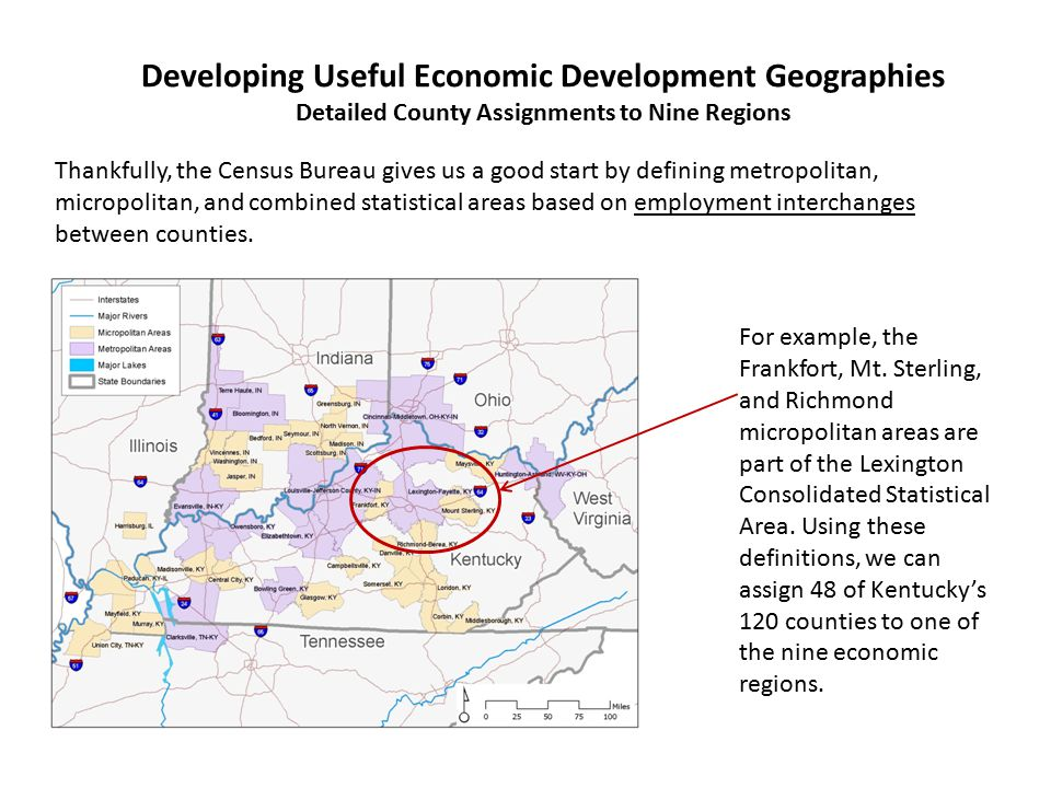 Developing Useful Economic Development Geographies