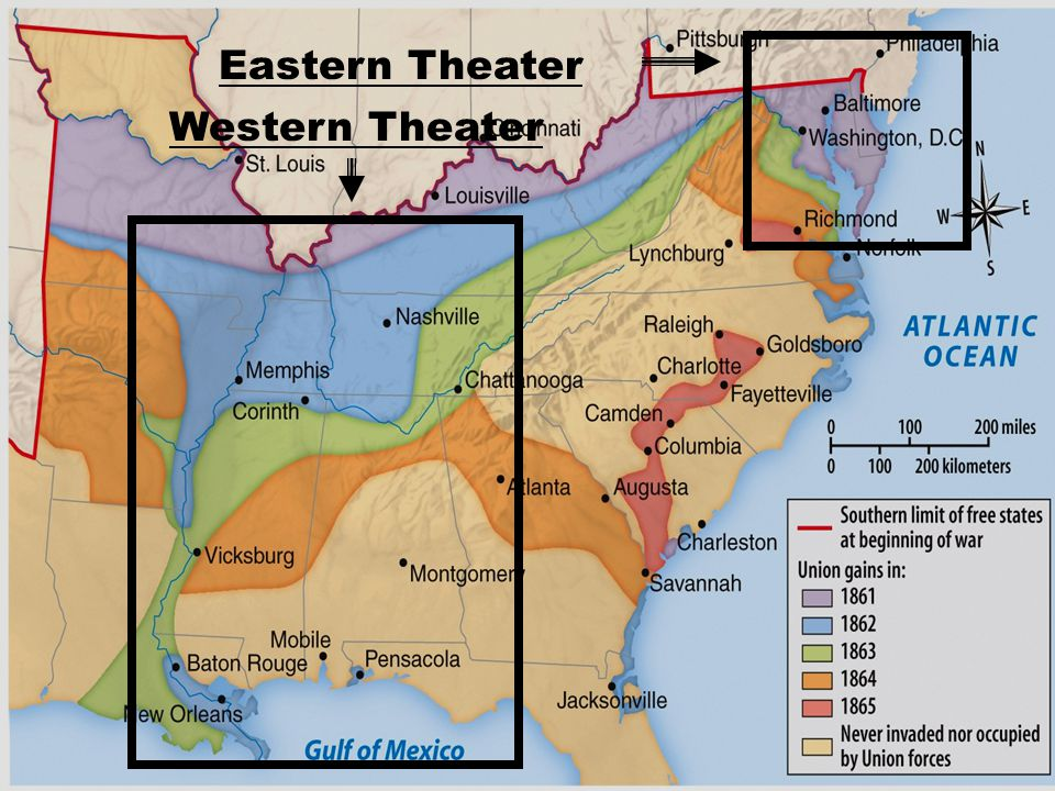 Eastern Theater Western Theater
