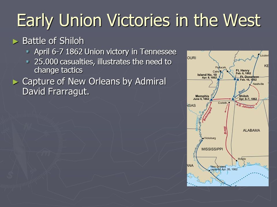Early Union Victories in the West