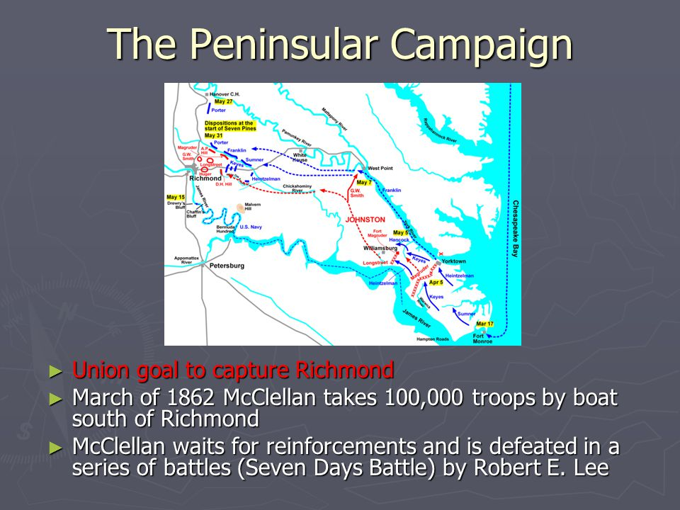 The Peninsular Campaign